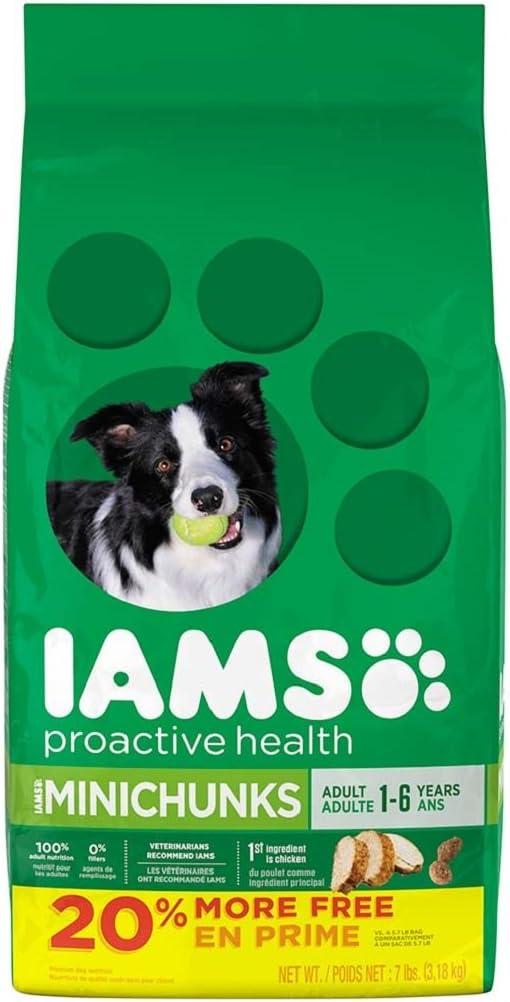 Iams Proactive Health Adult Minichunks Dry Dog Food 5.7 Pounds