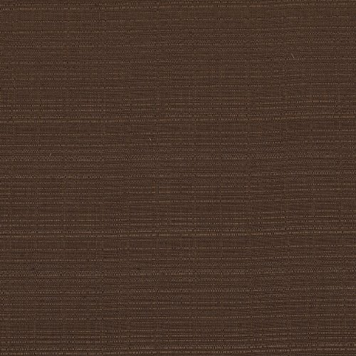 Heavy Duty Jacquard Fabric Solid Chocolate Brown Couch