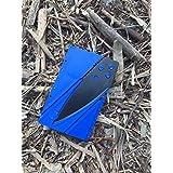 Credit Card Knife, Folding Pocket Knife. Tactical Survival Foldable Knife, Letter, Envelope, Package Knife, Safety Knife, CardSharp Card Sharp, Sharp Card (Blue & Black)