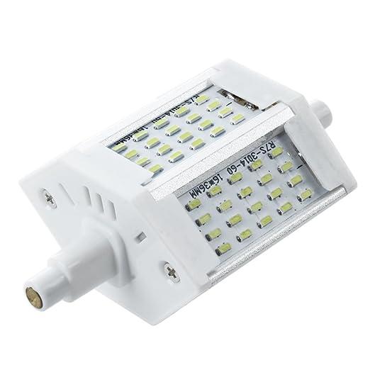 TOOGOO(R) R7s regulable 78mm 60 3014 SMD LED 6W Blanco Bombillas AC220-