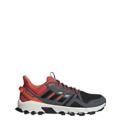 561ff1012ea04 adidas Running Men s Rockadia Trail Grey Six Black Raw Amber 7 ...