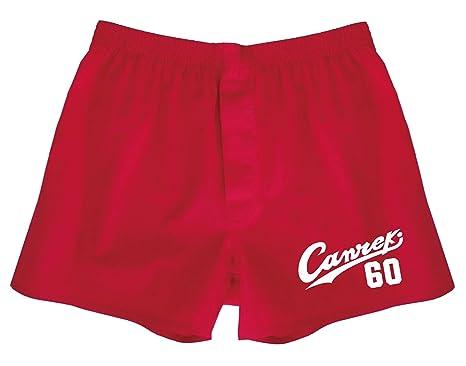 還暦 の代わり シャレもん 還暦祝い 肌着 【かんれきだもの】 ちゃんちゃんこ パンツ 名入れ 男性 トランクス 下着 赤い 父 プレゼント