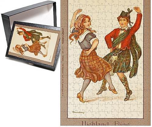Photo Jigsaw Puzzle of Highland Fling by Florence Hardy