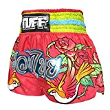 Tuff Muay Thai Shorts TUF-MS617-PNK-M