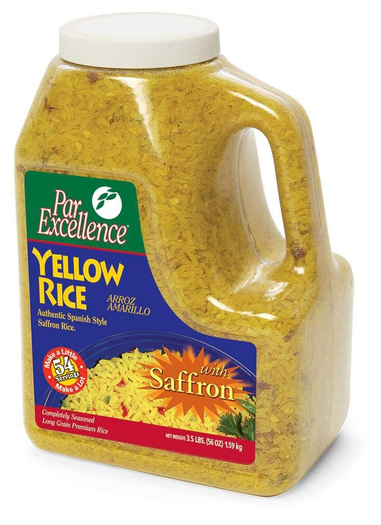 ParExcellence Yellow Rice (3.5 lbs.) (pack of 6) by Par Excellence