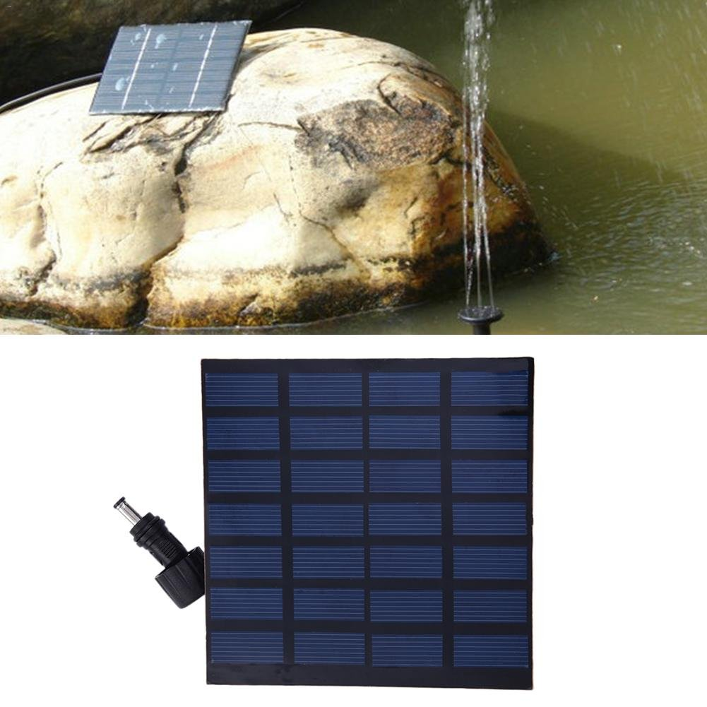 Bulary Solar Water Pump Floating Panel Pool Solar Power Fountain Garden Landscape Artificial Outdoor Fountain Small Mini Fountain Kit for Fish Tank, Pond, Pool, Garden Decoration