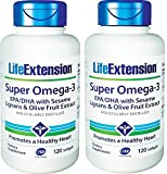 Cheap Life Extension Super Omega 3 Epa Dha (2 X 120)