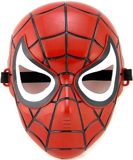 Máscara de disfraz de hombre araña - spiderman - disfraces para ...