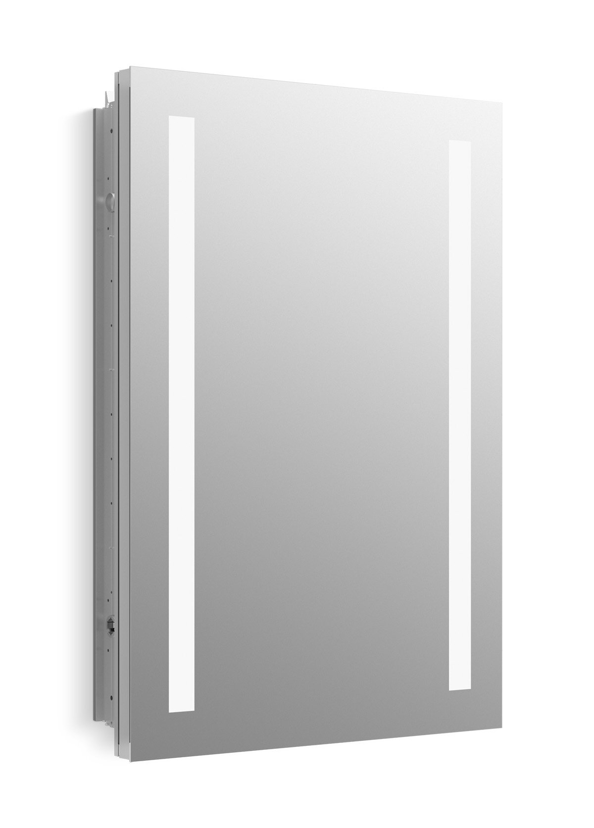 KOHLER 99003-TL-NA Verdera Lighted Medicine Cabinet, Aluminum