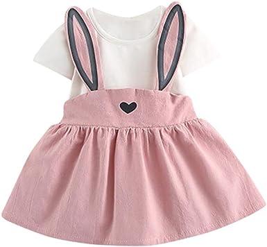 Kolylong Baby Dress for 0-3 Years, Toddler Girls Cute Rabbit Bunny ...