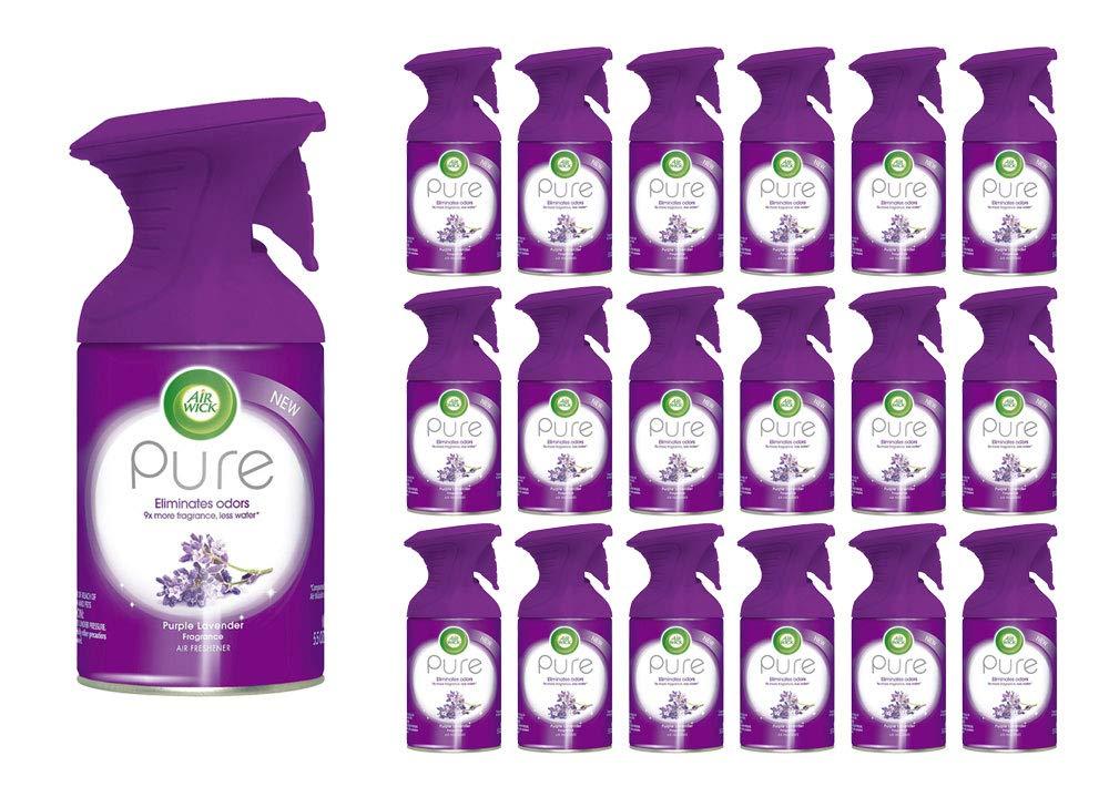 Air Wick Pure Air Freshener Spray Premium Fragrance Purple Lavender 5.5 oz (114 Spray Bottles) by Air Wick (Image #1)