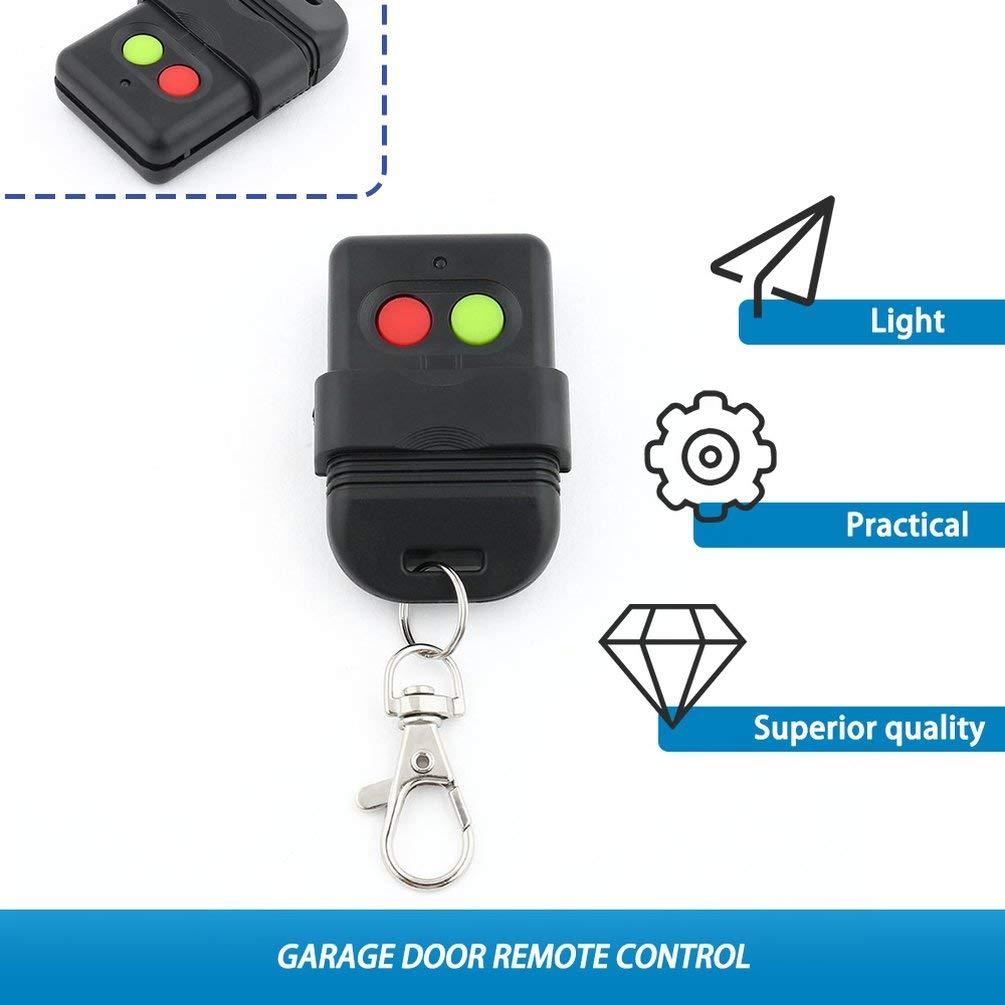 Duplicatore Telecomando Wireless Auto Copy 330Mhz per Porte da Garage Chiave Nero
