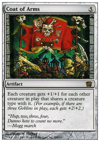 Magic: the Gathering - Coat of Arms - Eighth Edition - ()