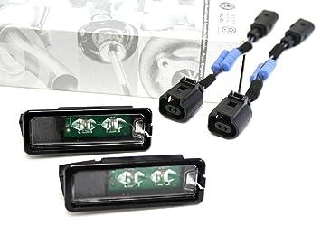 Bombillas LED para matrícula de VW (2 unidades)