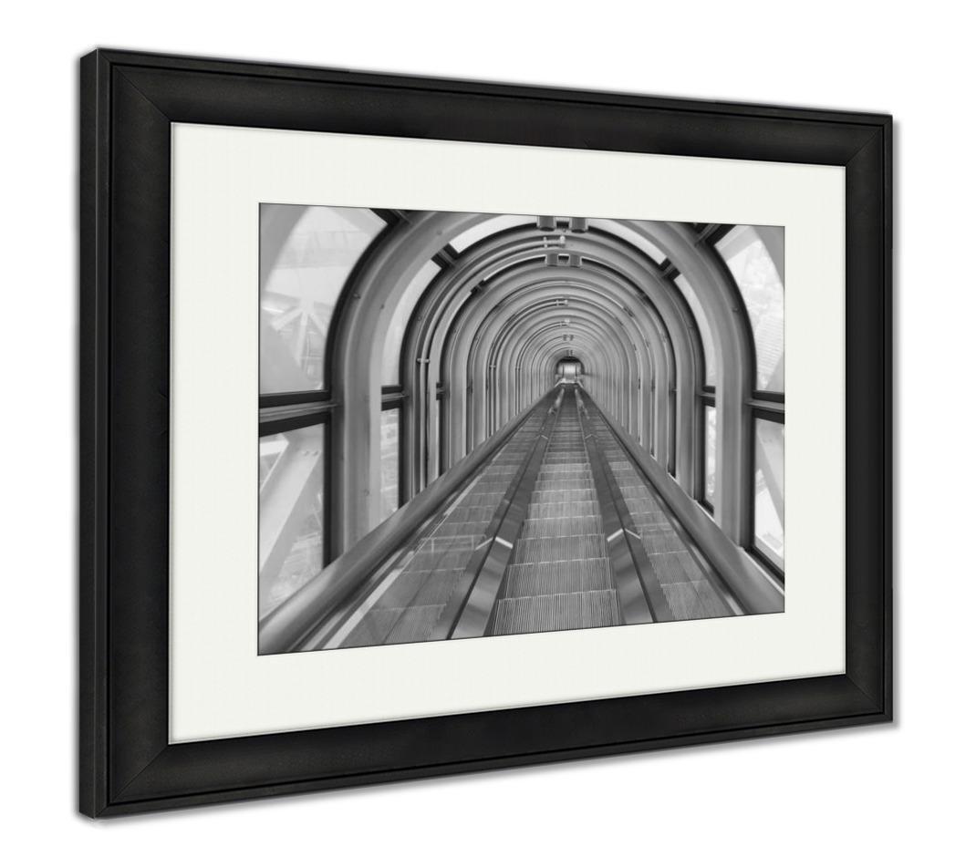 Ashleyフレームプリント階段エスカレーター、トンネルCityパースDowntown 26