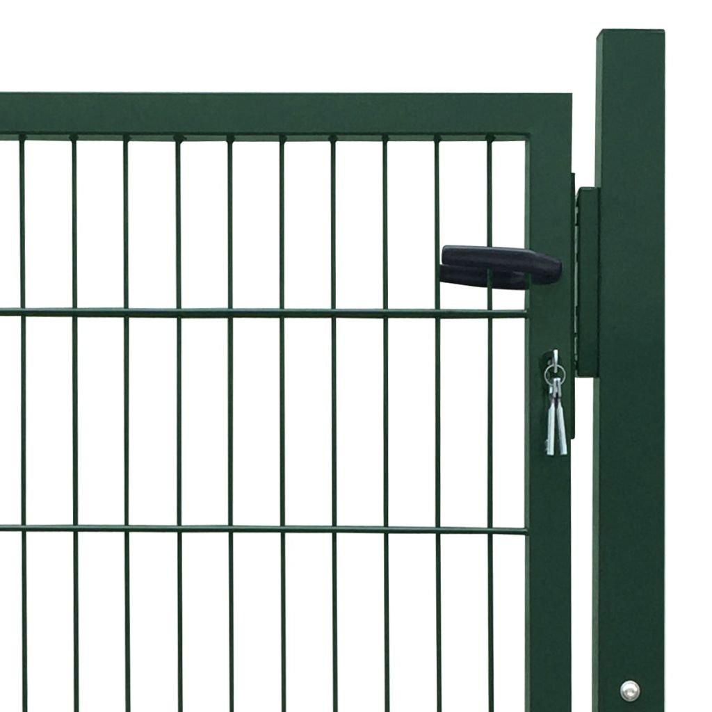 Porte de cl/ôture Gris anthracite 106 x 170 cm Single vidaXL Portillon de jardin 2D
