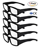 Amazon Price History for:CPPSLEE Solar Eclipse Glasses- CE and ISO Certified Safe for Great American Total Solar Eclipse Shades August 21, 2017 (5 Pack - Black Plastic of set)