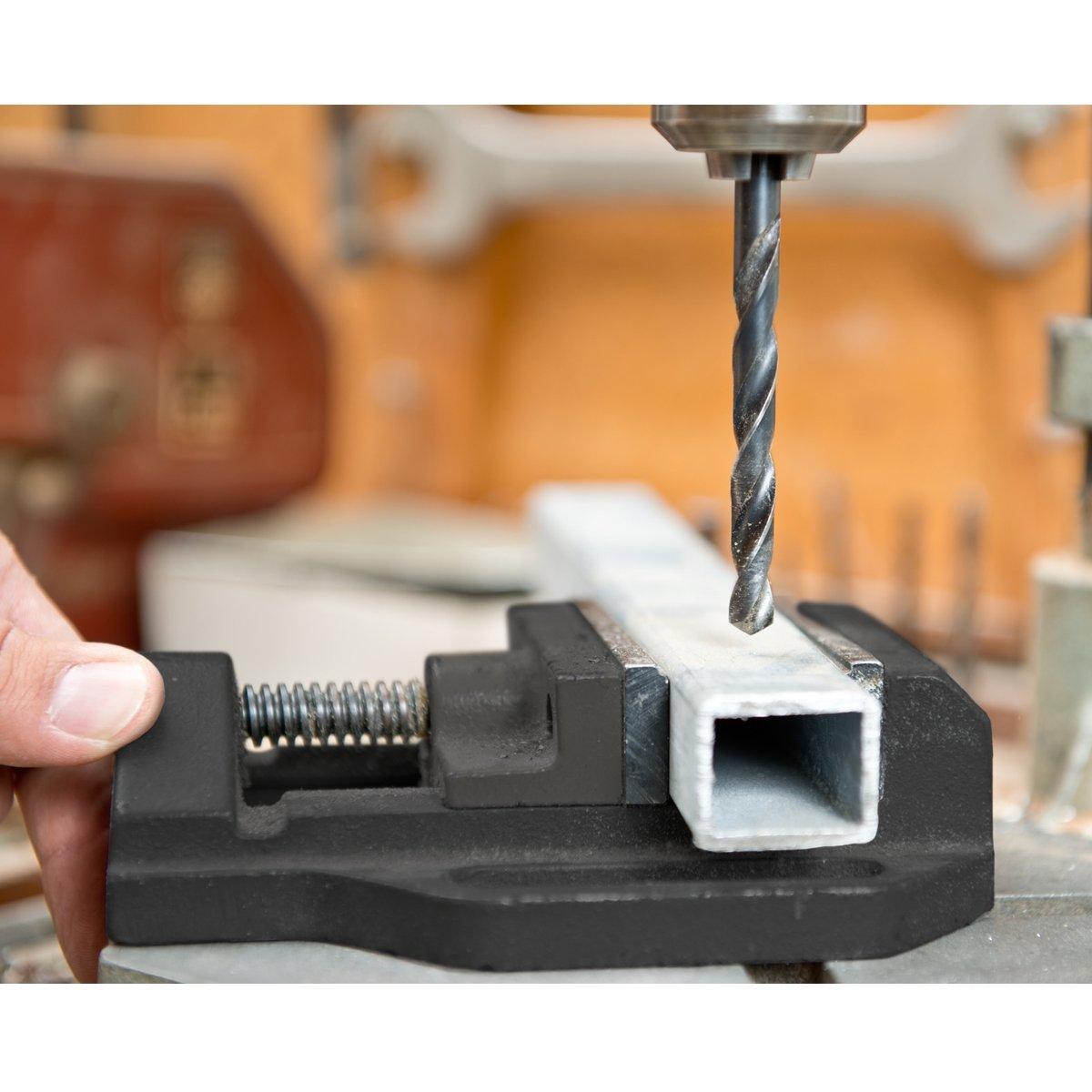 "Clarke CDV30CB 3/"" 75mm Cast Iron Drill Press Vice"