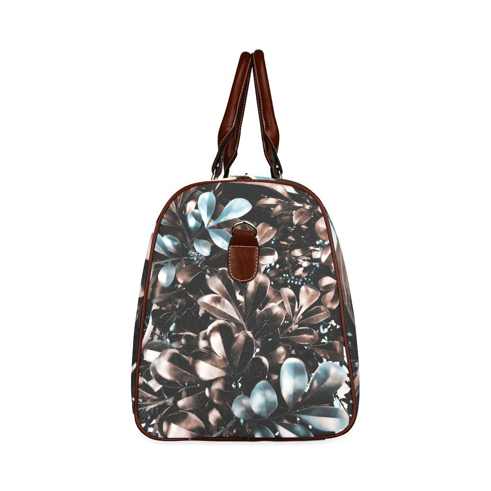 Foliage Custom Waterproof Travel Tote Bag Duffel Bag Crossbody Luggage handbag