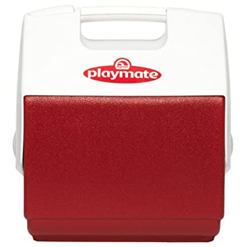 IGLOO Nevera portátil Playmate PAL roja 6 litros Mini, Plástico ...