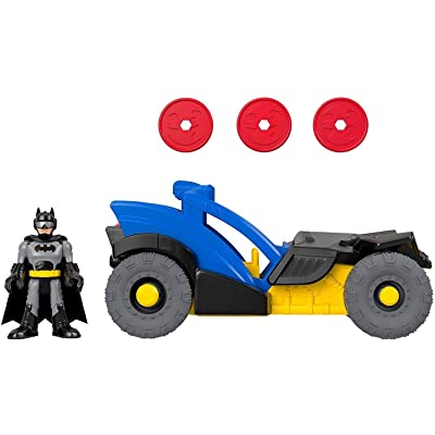 Fisher-Price Imaginext DC Super Friends Batman Figure & Rally Car, GKJ25: Toys & Games