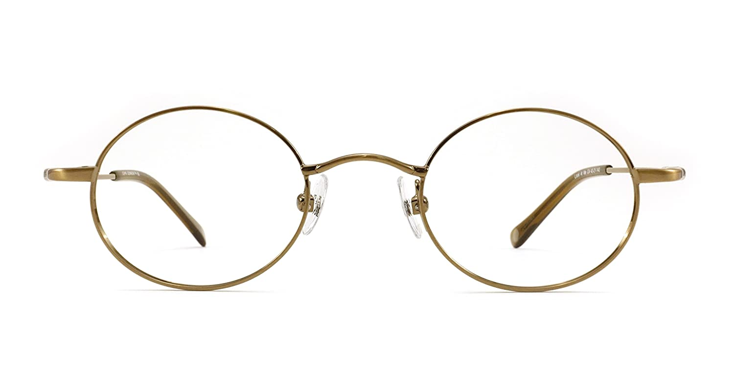 1f445f9d2f3 John Lennon JL214 (Look at Me) Eyeglass Frame - Antique Copper at Amazon  Women s Clothing store