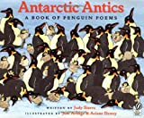 Front cover for the book Antarctic Antics: A Book of Penguin Poems by Judy Sierra