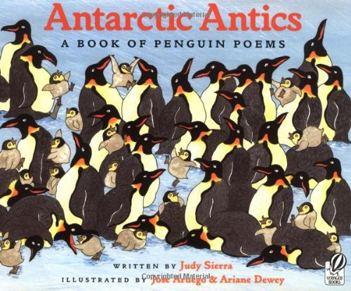 Antarctic Antics Book Penguin Poems product image
