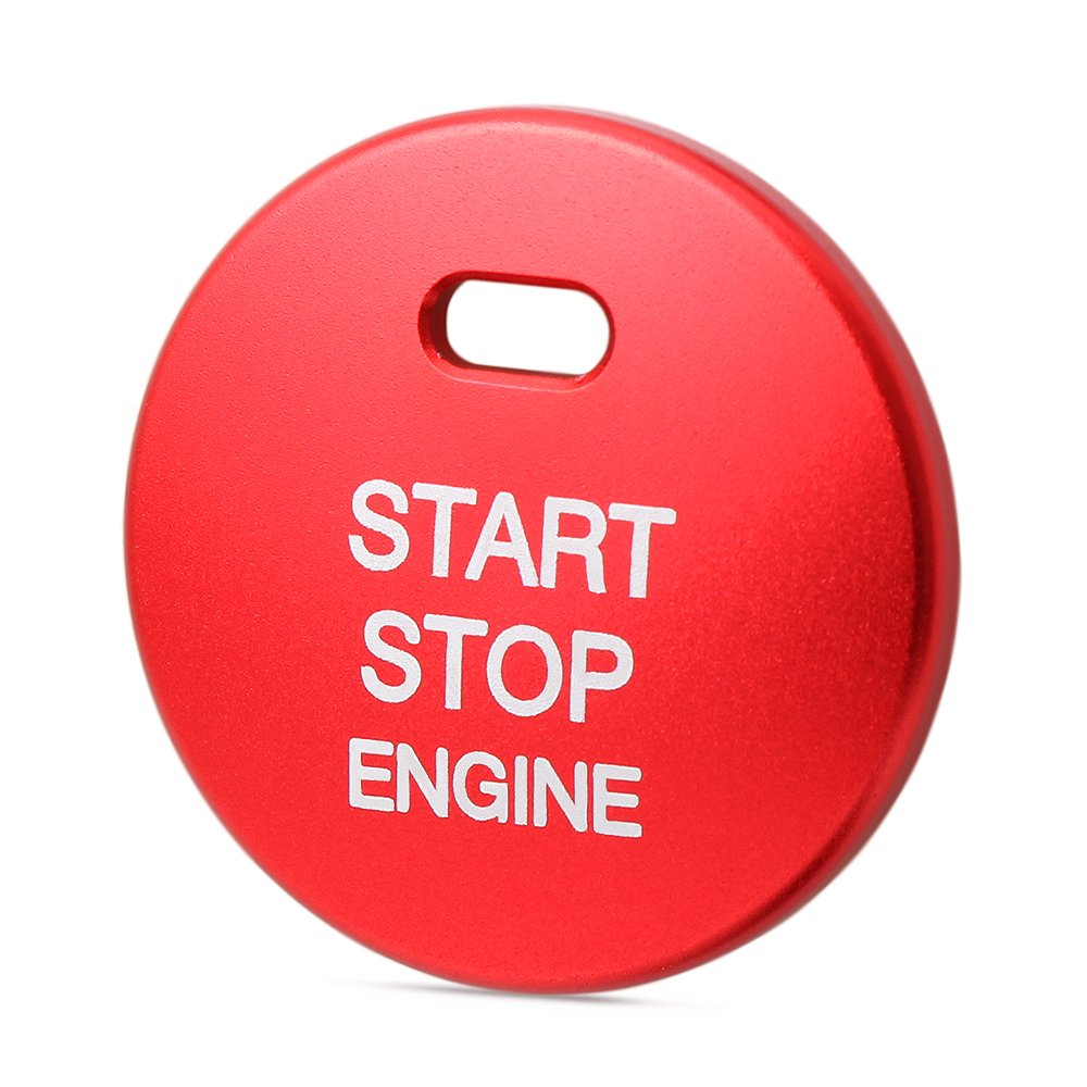 AndyGo Start Engine Button Replace Cover STOP Key Accessories Switch Decoration Universal For Mazda 3 BM BN 6 GJ1 GL CX-4 CX4 CX-5 CX5
