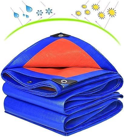 BAIYING Lona de protección Pérgola Protector Solar Espesamiento Sombra Cubrir Tela Impermeable PVC Ojal de Metal, 18 Tallas Personalizable (Color : Blue, Size : 4.8x4.8M): Amazon.es: Hogar