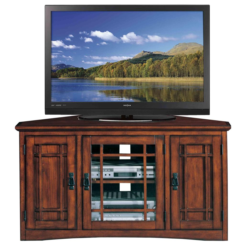 Leick Riley Holliday Mission Tall Tv Stand