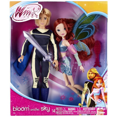 - Winx Club Deluxe Fashion Doll Bloom & Sky 2 Pack