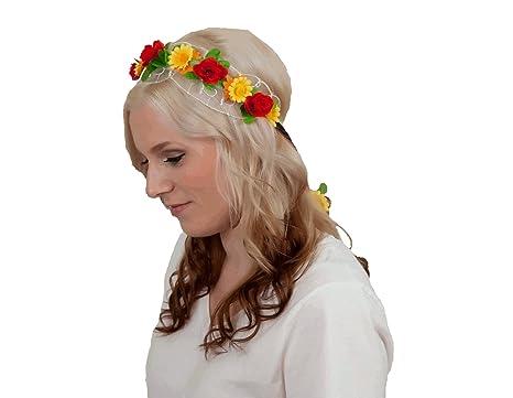 Amazon.com  Essence Of Europe Gifts Girls  Garland Wedding Headband W German  Flowers  Clothing 0bb674f8b75