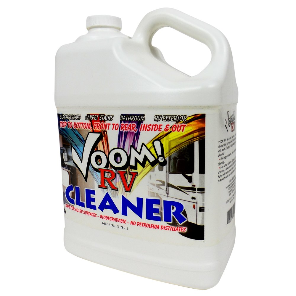 Motorhome Black Streak Cleaner All-Purpose RV Roof Trailer Cleaner From Voom! (1 Gallon)