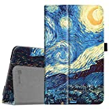 Fintie Folio Case for Samsung Galaxy Tab A 8.0 2017 Model T380/T385, Premium PU Leather Folio Stand Cover with Auto Sleep/Wake for Galaxy Tab A 8.0 Inch SM-T380/T385 2017 Release, Starry Night