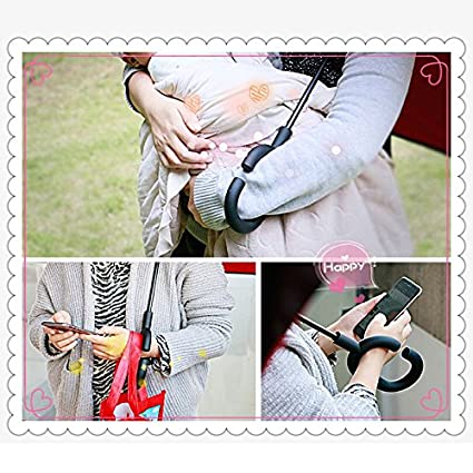 Amazon.com : Crochi Inverted Umbrella Rain Women Men paraguas Double Layer Reverse Umbrella Male guarda chuva invertido car walking stick Umbrellas Black ...