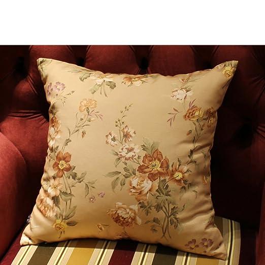 Cojín floral estilo pastoral/fundas de cojines de sofá ...