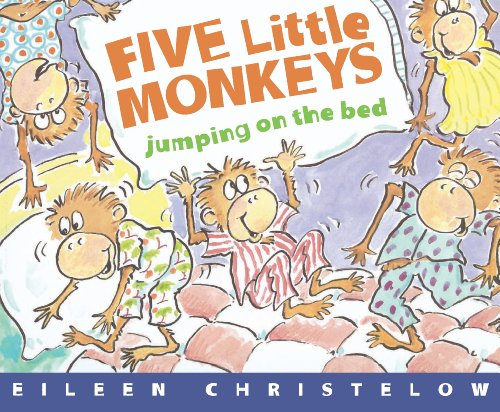 Five Little Monkeys Jumping on the Bed (A Five Little Monkeys Story) (1990 Series Learning)