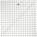 OLFA 1071800 QR-16S 16-1/2-Inch Square Frosted Advantage Acrylic Ruler