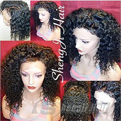 Shengji Hair 360 Lace Frontal Wigs For Black Women Brazilian Pre Plucked 360 Lace Wig Glueless Human Hair Wigs for Black Women With Baby Hair