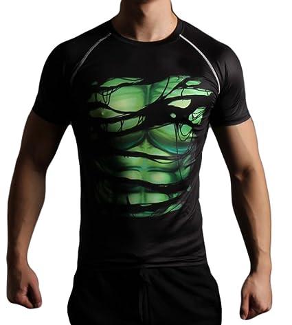 f6307b515ba L H Men s Super Hero Digi Camo Sweet-free Quick-dry Compression Shirt  Basketball Shirt