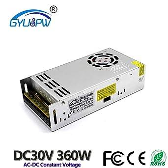 Utini AC 220 V Input DC 18 V 20A Output 360 W Power Supply Switching Power Supply