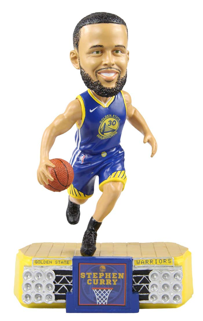 Stadium Lights Bobblehead by Foco Stephen Curry Golden State Warriors