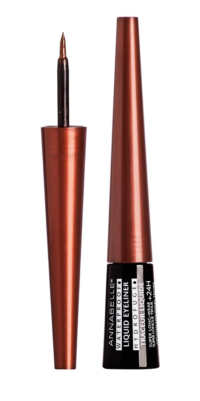Annabelle Waterproof Liquid Eyeliner, Bronze, 3 mL Groupe Marcelle Inc.