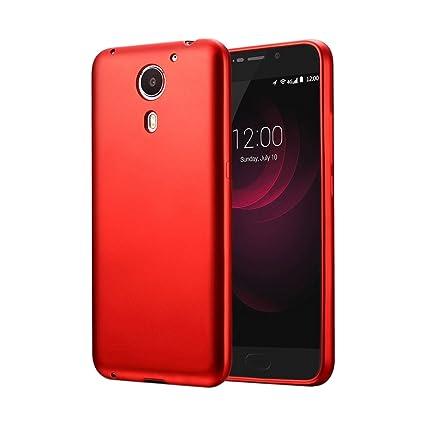 Guran® Silicona Funda Carcasa para UMI Plus Smartphone TPU Bumper Shock case Cover-Negro