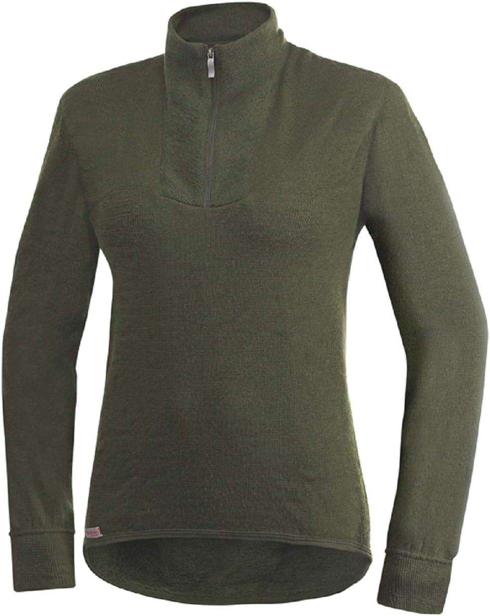 Unterw/äsche Woolpower 200 Turtleneck Long Sleeve Zipp Shirt Men