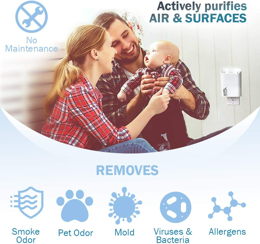 The Mold Guard home Air Purifier Eliminate Even Smoke