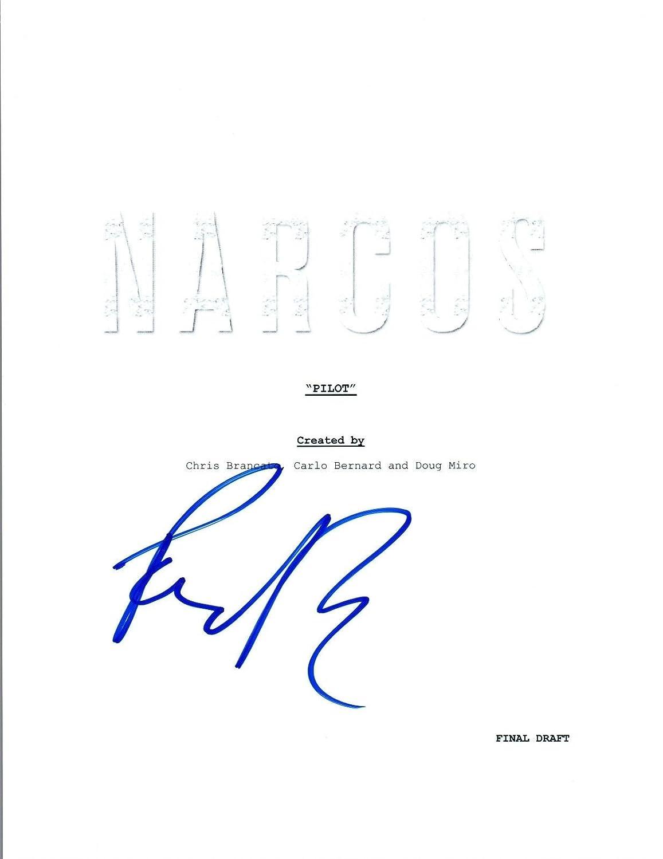 Pedro Pascal Signed Autographed NARCOS Pilot Episode Script Javier Pena COA Unbranded
