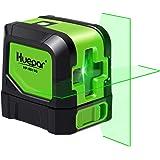 Huepar Cross Line Laser - DIY Self-Leveling Green Beam Horizontal and Vertical Line Laser Level with 100 Ft Visibility…