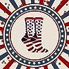 Republican Statement Socks Donald Trump American Flag Pattern Unisex Adult Crew Fashion Novelty Socks (Large)